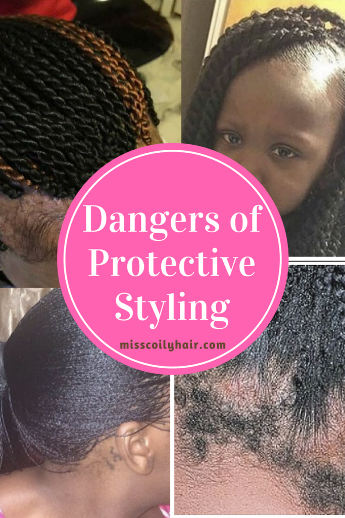 Dangers of Protective Styling | misscoilyhair.com