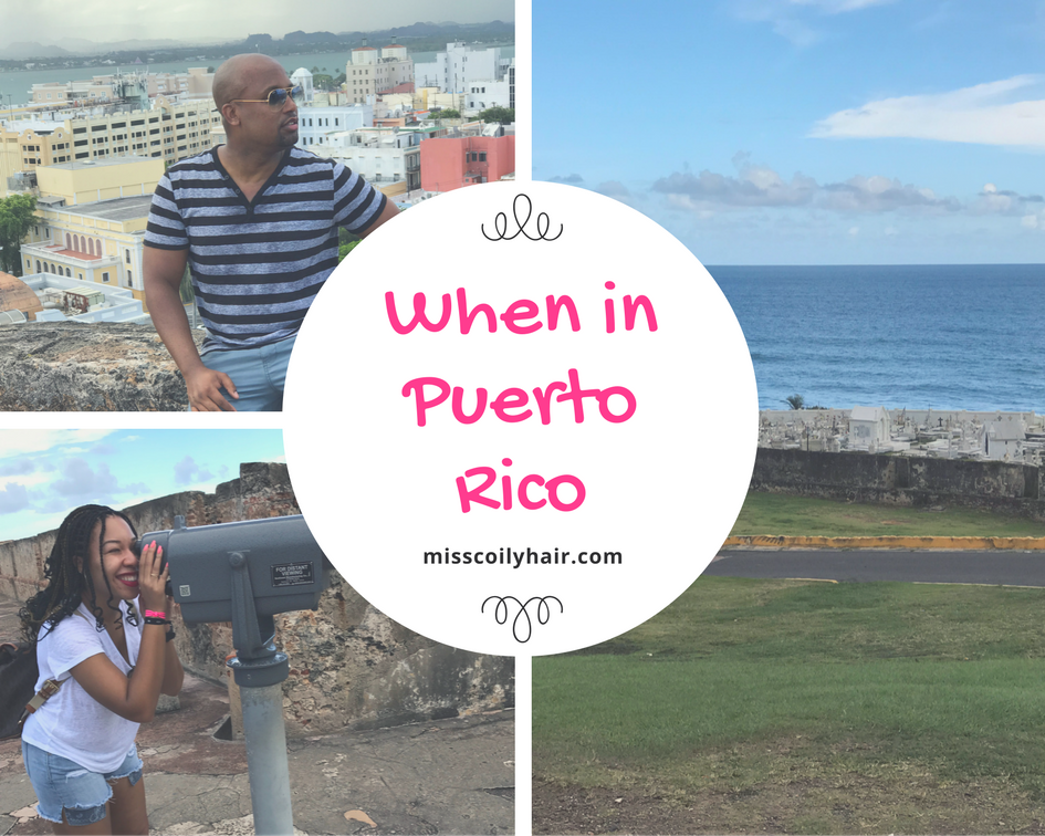 When in Puerto Rico. A list of fun activities you can do while visiting Puerto Rico| misscoilyhair.com