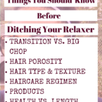 7 Things you should know before ditching your relaxer| misscoilyhair.com