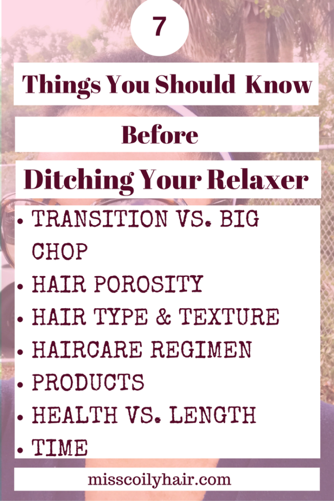 7 Things You Should Know Before Ditching Your Relaxer