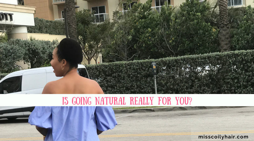 Going Natural Is It Really For you