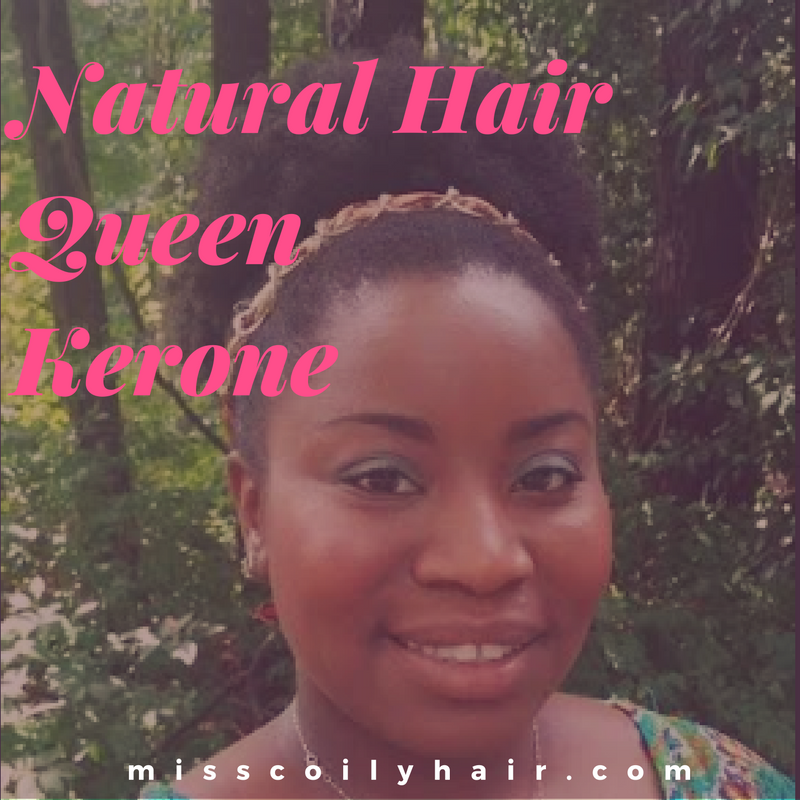 Natural Hair Queen Kerone