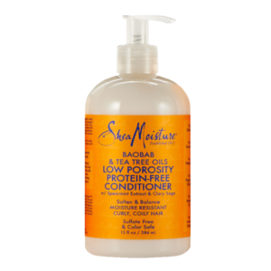 shea moisture low porosity protein-free conditioner