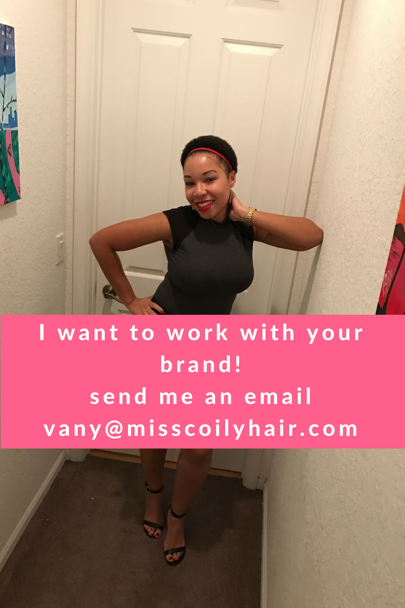 I want to work with your brand!send me an emailvany@misscoilhair.com